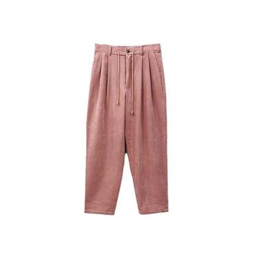 yotsuba - Corduroy Wide Pants / Pink ¥26000+tax