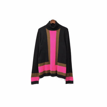 USED - Design Turtleneck Knit ¥8500+tax