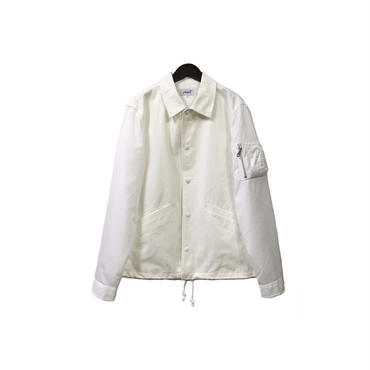 yotsuba - Switching Coach Jaket / White ¥28000+tax