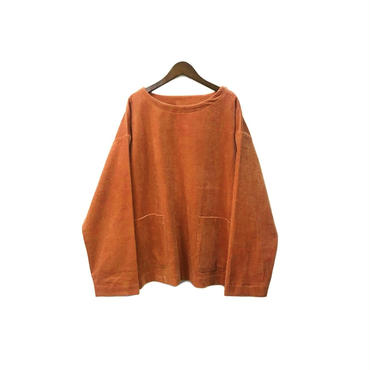 yotsuba - Corduroy Pullover Tops / Orange ¥26000+tax