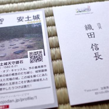 オリジナル団員名刺(両面カラー、100枚)【送料無料】