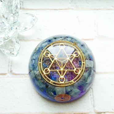 具現化と深い愛のエネルギー・神聖マカバオルゴナイト~グラデーションver.