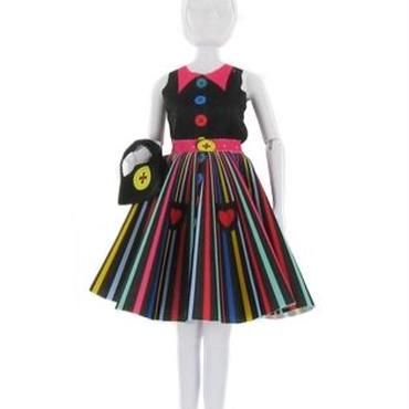 Lev.3 お人形の洋服作り Dress your doll -rainbow-