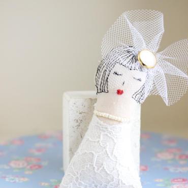 Wedding (ブローチ/バックチャーム)