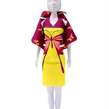 Lev.1 お人形の洋服作り Dress your doll -チョウチョ-