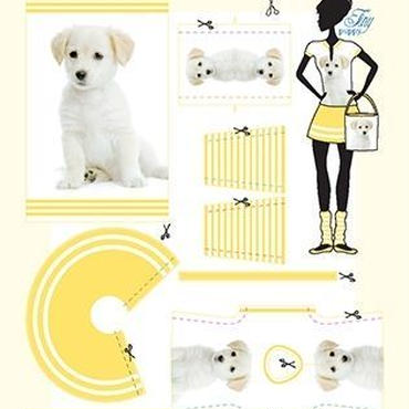 Lev.1 着せ替え人形のお洋服作り Dress your doll -dog-