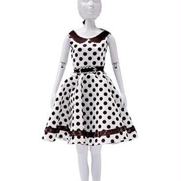 Lev.3 お人形の洋服作り Dress your doll -dots-