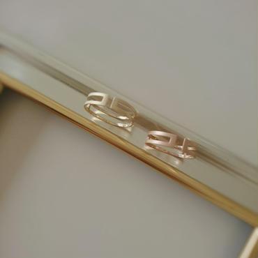 ZERO(マットゴールド) RING