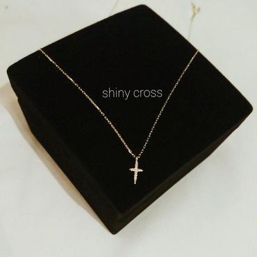 Shiny cross ネックレス