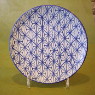 KUA工房「麻柄 鯛皿」20cm