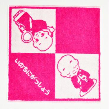 再入荷! タオルハンカチ(ピンク)