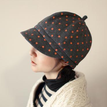 帽子【タンジェリン水玉】 レディース