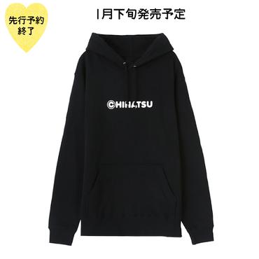 【1月下旬発売予定】©HINATSUパーカー【KMT-297BK】