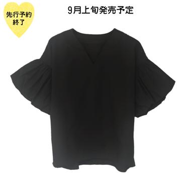 【9月上旬発売予定】ブラウス【KMT-261BK】