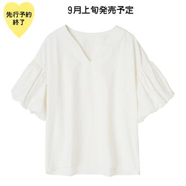【9月上旬発売予定】ブラウス【KMT-261WH】