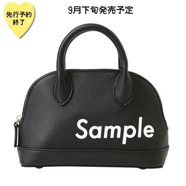 【9月下旬発売予定】Sample バッグ【KMT-371BK】