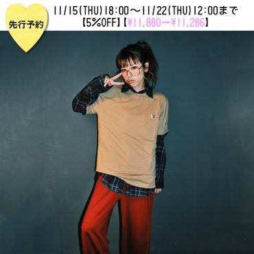 【先行予約5%OFF】ワイドフレアジャージパンツ【KMT-397BN】※11月下旬お届け予定