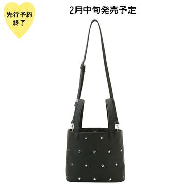 【2月中旬発売予定】星スタッズバッグ【KMT-289BK】