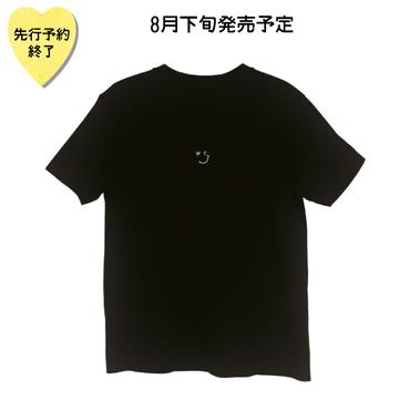 【8月下旬発売予定】刺繍TEE【KMT-355B BK】