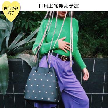 【11月上旬発売予定】星スタッズ2WAYバッグ【KMT-390BK】
