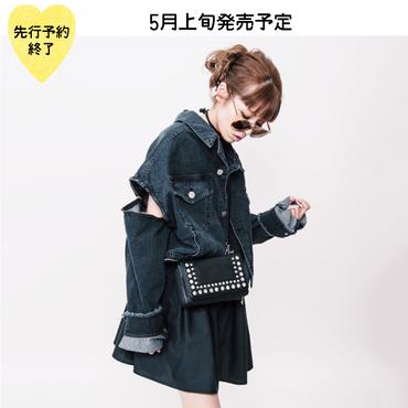 【5月上旬発売予定】お財布付きビジューポシェット【KMT-300BK】