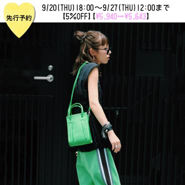 【先行予約5%OFF】MINI BAG【KMT-376GN】※10月上旬お届け予定