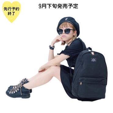 【9月下旬発売予定】LOVEリュック【KMT-267BK】