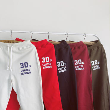 30s limited numberキッズパンツ