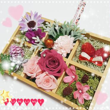 盛りだくさんフラワーBOX【ピンク】