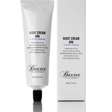 Baxter of California – Night Cream AHA