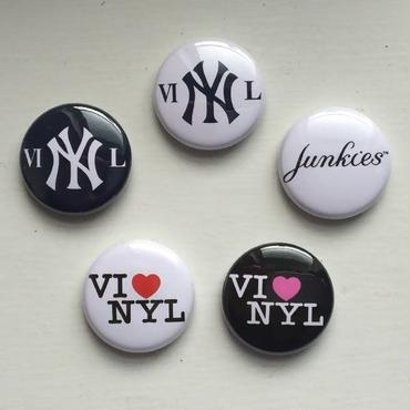 "A.W. Harvest ‎– "" NY series "" Button Badges 5set"