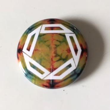 "Kvin. ‎– "" Logo "" Button Badges (Limited Tie-Dye ver. 02)"