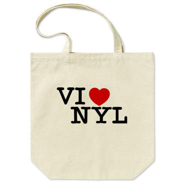 "orz design ‎– ""I LOVE VINYL"" Tote Bag"