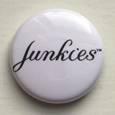 "A.W. Harvest ‎– "" Junkies "" Button Badges"