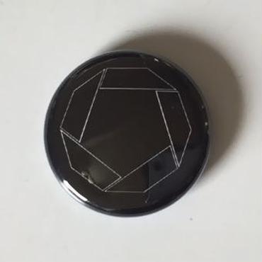 """Kvin. – """" Logo """" Button Badges (Blk X Wht)"""