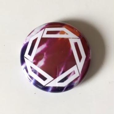 "Kvin. ‎– "" Logo "" Button Badges (Limited Tie-Dye ver. 01)"