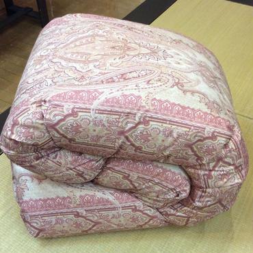 ロマンス小杉 羽毛布団:シングルサイズ  ピンク/ブルー