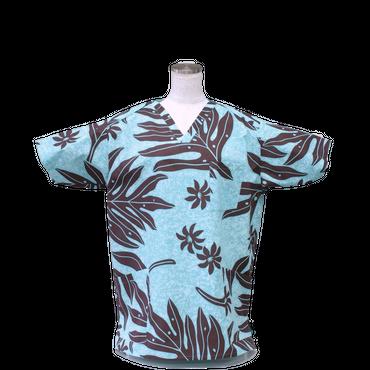 女性用 No.5580      M            ハワイアン3268  医療用、介護用スクラブシャツ