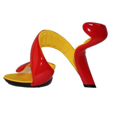 新品ジュリアンヘイクス モヒート red/yellow 35(23cm-23.5cm)