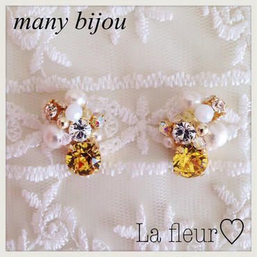 再販!many bijou♡ピアス イヤリング