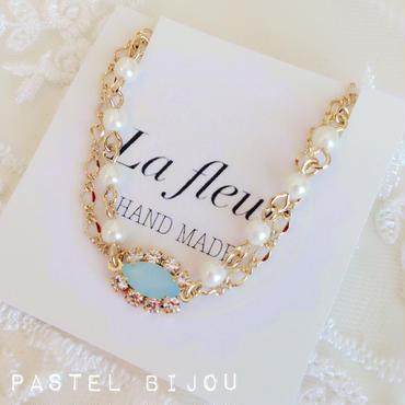 再販!pastel bijou♡bracelet (blue)