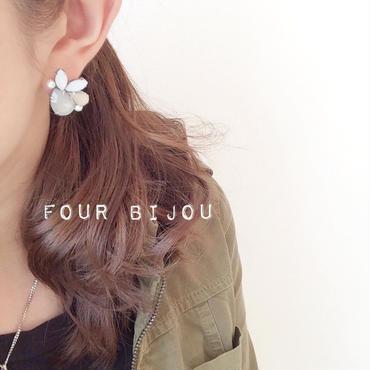 再販!four bijou♡smoky ピアス イヤリング