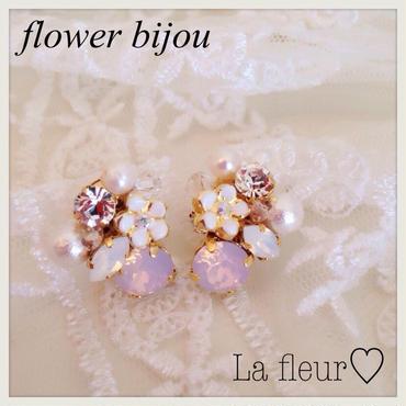 再販!flower bijou♡ピアス イヤリング