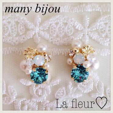 many bijou♡ピアス イヤリング