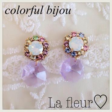 colorful bijou♡ピアス イヤリング