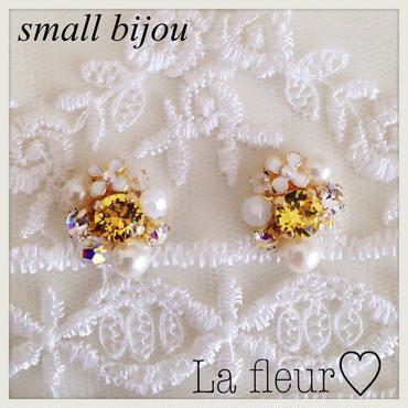 small bijou♡ピアス イヤリング 〔B〕
