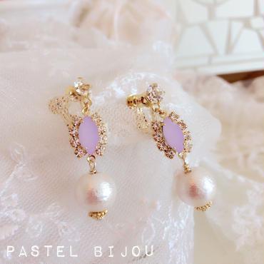 pastel bijou♡ピアス イヤリング(pink)