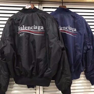 バレンシアガBalenciaga MA-1ジャケット コートブルゾン 男女兼用