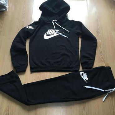 ナイキ/Nike 上下パーカーセットアップ 裏起毛 3色選択