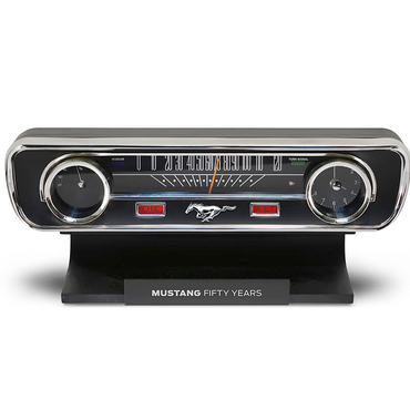 Ford Mustang Desk Sound Clock 50th Anniversary Limited Edition